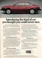 1976 Lancia Advertising Road & Track April 1976 (SenseiAlan) Tags: 1976 lancia advertising road track april