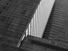 Repulic Tower Facade 2 (Mabry Campbell) Tags: dallas h5d50c hasselblad republictower texas architecture blackandwhite building design downtown facade image levels photo photograph windows f63 mabrycampbell april 2017 april152017 20170415campbellb0001362 80mm ¹⁄₈₀₀sec 200 hc80 fav10 fav20