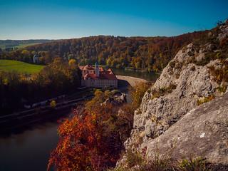 Weltenburg wearing its autumn colors!