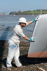 Dazcat 1195 Hissy Fit (Dazcat Catamarans) Tags: dazcat catamaran plymouth powercat boatbuilder compositeengineer veryslendervessel multimarine cornwall uk vsv