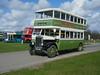 Preserved Jersey Motor Transport SV 6107. (johnzebedee) Tags: bus motorbus transport publictransport rally busrally preservation heritage detling kent johnzebedee leyland leylandtitantd1