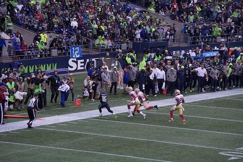 2017 Seahawks vs 49ers game