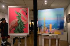 Rowdy & Wilde (Butterfly Art News) Tags: rowdy wilde clifton fine art bristol screenprint contemporary