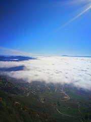 Above the fog...️💙 (carlesbaeza) Tags: fog cloud niebla boira paisaje paisatge landscape sky travel catalunya catalonia berga ngc nature