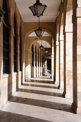 Shadow And Light (Alan1954) Tags: holiday 2017 spain oviedo shadow light pillars