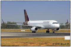 VT-TTE (Girish Bhagnari) Tags: vttte vistara a320 airbus bangalore vobl airport spottingtaxii