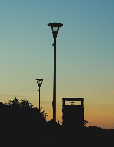 Lamps After Sunset