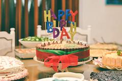 Birthday Party 🎂 (Tuqaki) Tags: birthday birthdaycake birthdayparty happybirthday cake cakes sweets delicious yummy family food foody familytime freinds happiness happy home nikon mynikon 50mm