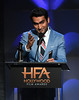 Honoree Kumail Nanjiani accepts the Hollywood Comedy Ensemble Award for 'The Big Sick' onstage during the 21st Annual Hollywood Film Awards at The Beverly Hilton Hotel on November 5, 2017 in Beverly Hills, California. (Photo by Kevin Winter/Getty Images)