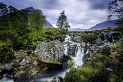 Waterfall (tony_shaw60) Tags: rivercoupall scotland buachailleretivemor nature nopeople rocks stream water