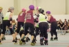063 (Bawdy Czech) Tags: lava city roller dolls cinder kittens cherry blossoms derby skate october 2017 bend oregon