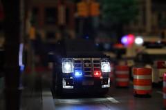 Cadillac Escalade Unmarked Police Unit (sponki25) Tags: cadillac escalade unmarked police cruiser unit lego nypd nyc newyork city legonyc