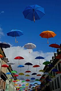 Parapluies à Carouge