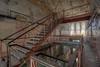 Old Prison... (Městský průzkum) Tags: urbex france prison abandoned old window stair prisoner rest wasted hdr canon