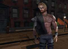 Hot Child in the City (CodyAdored) Tags: secondlife mesh syrio menonlymonthly vango boystothebone male fashion