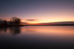 Daybreak, Lake Chatfield (mclcbooks) Tags: dawn daybreak sunrise morning landscape lake le longexposure silhouettes trees clouds chatfieldstatepark lakechatfield colorado