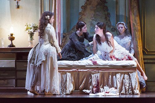 How the world of theatre influenced Katie Mitchell's <em>Lucia di Lammermoor</em>