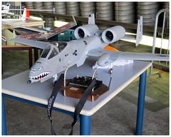Fairchild-Republic A-10 Thunderbolt (Aerofossile2012) Tags: avion aircraft model maquette airshow ba116 luxeuil 2015 fairchildrepublic a10 thunderbolt ii
