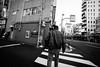 On ne peut pas fuir la ville (www.danbouteiller.com) Tags: japan japon japanese japonais tokyo asakusa city ville urban urbain street streetscene streetlife streets streetshot streetphoto streetphotography mono monochrome monochromatic black white noir blanc nb bw noiretblanc noirblanc filmnoir blackandwhite blackwhite blacknwhite canon canon5d eos 5dmk2 5d 5dm2 5d2 14mm samyang samyang14mm people walking asian asiatique asie asia contrast contraste outside extérieur crosswalk cross walk
