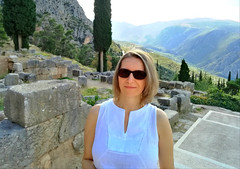 Delphi (ika_pol) Tags: unesco unescogreece worldheritage greece delphi antiquity ancient ancientgreece ancientruins geotagged parnassusmountains me