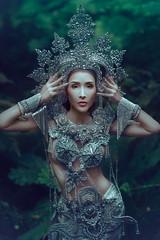 Trinity - Part One (jajasgarden) Tags: nikond810 thaidress portrait fantasy