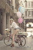 _M3_9811#### (FrankCroft) Tags: primavera spring globos ballons bici bicicleta bicycle calle street flores frowers albacete flowerhead tocadodeflores diadema diadem frankcroft
