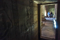 Exploring the chambers (Michael Olea) Tags: 2015 travel egypt africa adventure northafrica aswan