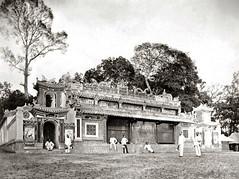 Pagoda, French Indo-China, Vietnam, circa 1890 - Đình Bà Lụa ở Thủ Dầu Một (Bình Dương)