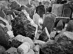 Old Jewish Cemetery, Prague, Czech Republic (13HICKMAN77) Tags: grave jewishcemetery czech europe cemetery
