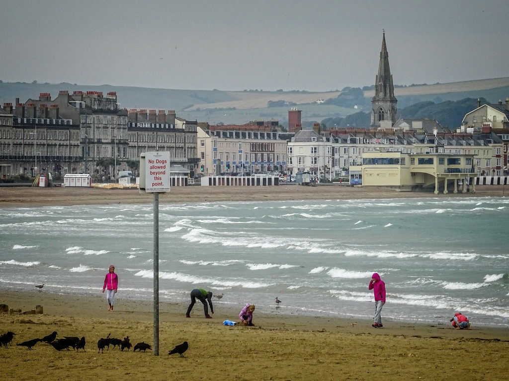 View from Weymouth Sands