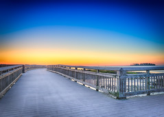 Walking the boardwalk early morning-2 (Singing With Light) Tags: 10th 2017alpha6500 cairns milford mirrorless singingwithlight sonya6500 photography september singingwithlightphotography sony sunrise walnutbeach