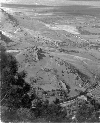 Photo - Overview of Red Rocks from Flagstaff Mountain (c. 1905).