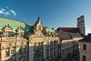 München im Abendlicht (bayernphoto) Tags: muenchen munich theatinerkirche frauenkirche liebfrauendom stcajetan city innenstadt bayern bavaria bayernhimmel weiss blau bayerische hypotheken und wechselbank lovelace sonnig abendlicht sunset warm zentrum downtown praechtig