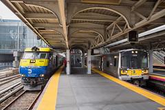 Long Island Rail Road Hub. (Dave McDigital) Tags: de30ac locomotive longislandrailroad lirr 404 bombardier emu m7