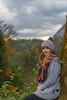 Chrissi autum 2017 (Roman Hauthaler) Tags: blonde girl autum green cloudysky nicepic leafes sunshine portrait sony alpha7ii