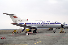 CCCP-87363 Yakovlev Yak-40 Aeroflot (pslg05896) Tags: uatt aktyubinsk aktobe kazakhstan cccp87363 yakovlev yak40 aeroflot akx