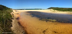 Moonee Beach Creek/Lagoon, Catherine Hill Bay, Newcastle, NSW (Black Diamond Images) Tags: mooneebeach mooneebeachlagoon lagoon mooneebeachcreek backcreek catherinehillbay newcastle nsw australia australianbeaches beach beachessubdivision catherinehillbaysouth rosegroup beaches iphone appleiphone7plus iphone7plus panorama appleiphone7pluspanorama iphone7pluspanorama iphonepanorama sand sky