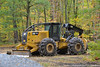 Cat 525D Skidder (Trucks, Buses, & Trains by granitefan713) Tags: cat caterpillar cat525d 525d skidder logskidder heavyequipment logging forestry outdoors