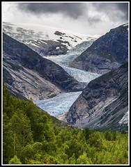 Paseando por Noruega: Glaciar Nigardsbreen (edomingo) Tags: edomingo olympusomdem10 mzuiko14150 glaciar nigardsbreen noruega