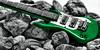 Rock & Roll (Mambo'Dan) Tags: colorsplash colorselect green rocks rockroll artisticphotography arts creativephotography stillphotography