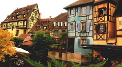 Colourful Colmar (acwills2014) Tags: houses colours colourful buildings timbered colmar france alsace timberedbuildings medieval renaissance windows windowswednesday shutters quaint picturesque