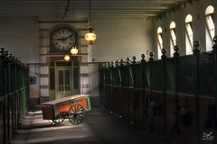That cart in the Royal stables .... (Bram de Jong) Tags: niftyfifty beautifullight classic nikon ngc stables hetloo gelderland holland