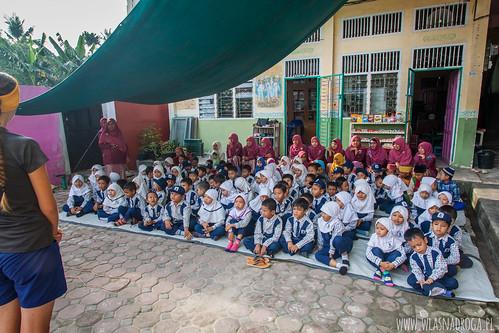 Apel w szkole w Dumai
