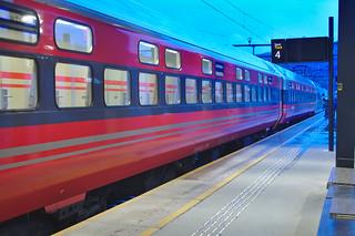 Slaaptrein naar Oslo