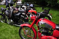 Classic motorbike envy (charlottehbest) Tags: charlottehbest 2017 england uk classic classiccar hardycountryclassictour dorset shillingstone