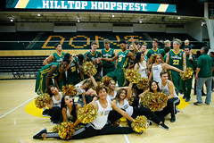 USF_Basketball_Hoopsfest_2017_5 (donsathletics) Tags: usf ncaa wcc dons san francisco basketball hoopsfest college hoops spirit squad cheer