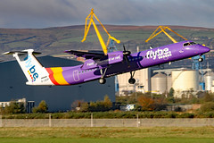G-JEDP (GH@BHD) Tags: gjedp dehavilland bombardier dhc dhc8 dhc8402q dasheight be bee flybe bhd egac belfastcityairport turboprop airliner aircraft aviation
