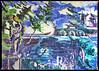 Installation, N°606 (atlantidisches Weltbild) (fuseholder) Tags: mamiya645 fujipn160ns mediumformat gssdabandoned sovietmurals sovietunionabandoned
