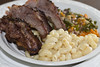 Ribs, mac and cheese, sauteed vegetables. (LDM707) Tags: sonomacounty santarosa instagood munchies stonerfood stoner canon1200d photography foodporn foodie foodphotography bayarea teamcanon nomnom food ribs macandcheese nationalfoodday2017