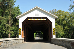 Forry's Mill Covered Bridge (Paula Stephens) Tags: covered bridge americana historic landmark building structure road transportation vintage rural pennsylvania lancaster